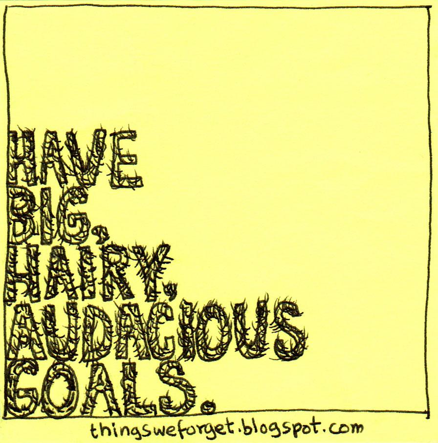 Big Hairy Audacious Goal